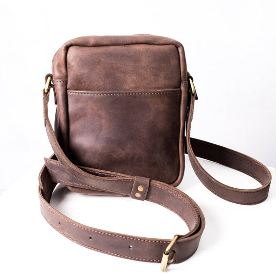 a1606a7896a Crossbody bag purse men leather bag mens handbag men bag   Etsy