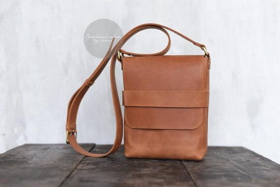 CASUAL bag Small messenger bag Mens messenger Small crossbody   Etsy da3c51b4de