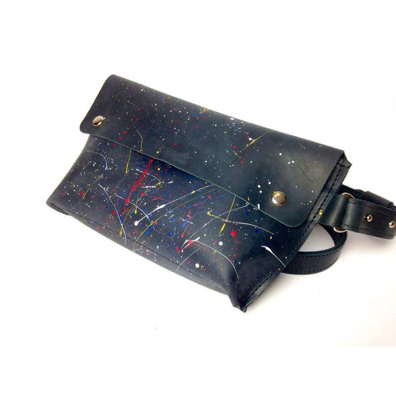 83fcc8acc217f Handmade fanny pack men waist bag women belt bag leather