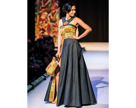 FIKA KENTE DRESS