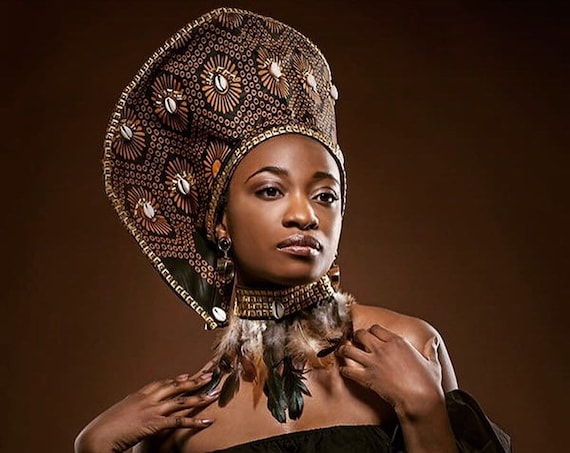 AFRICAN CROWN HAT