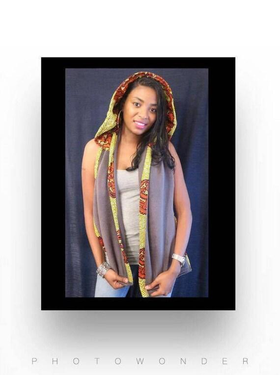 Ankara Hood/scarf