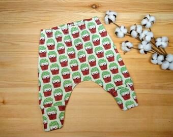 Unisex Harem Pants swinging hedgehog