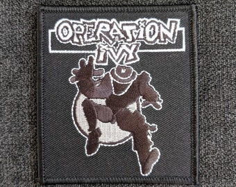 UNITY embroidered Patch Operation Ivy FREE SHIPPING! Iron On