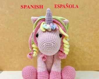 Baby unicorn amigurumi pattern - Amigurumi Today | 270x340