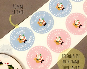 present stickers etsy