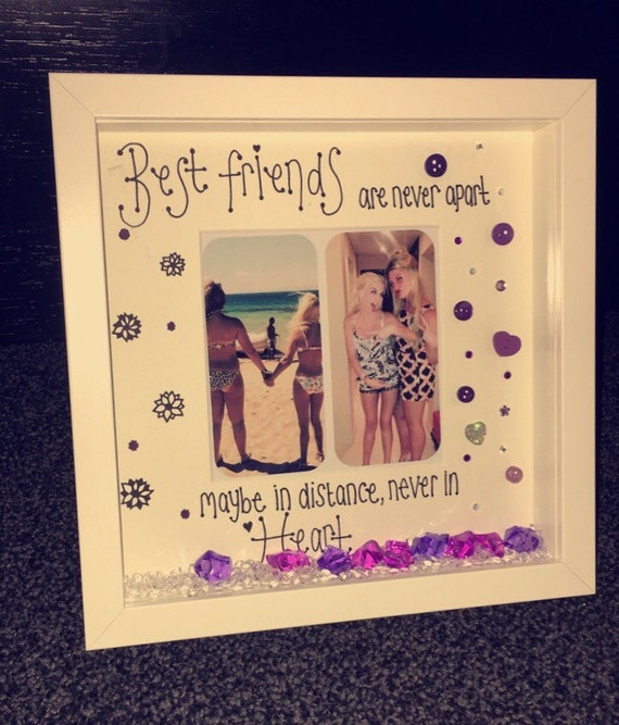 Best Friend Frame Friends Forever Photo Frame Memory Frame Etsy