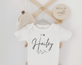 Baby Girl Coming Home Outfit, Newborn Girl Coming Home outfit, Personalized coming home outfit
