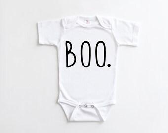 halloween baby bodysuit boo halloween baby halloween outfit baby gift monochrome baby gift funny gift halloween baby shirt