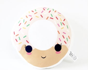 Donut kussen etsy