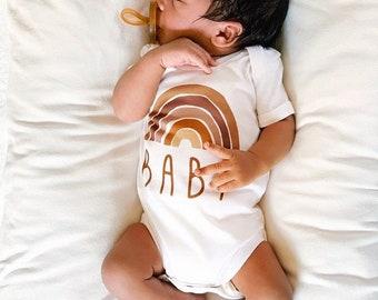 Rainbow Baby Bodysuit, Baby Shirt, Rainbow Baby Gift, Rainbow Shirt, Baby Shower Gift, New Baby, Baby Apparel, Hipster, Scandinavian Rainbow