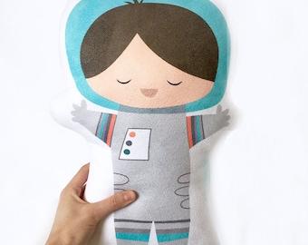 Boy Astronaut, Baby Boy Nursery, Nursery Pillow, Space Nursery, Boy Room Decor, Astronaut Pillow, Space Cushion, Boy Gift, Baby Shower Gift