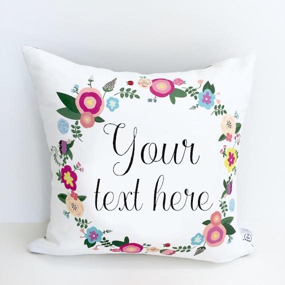 custom pillow customize pillow house warming gift custom etsy