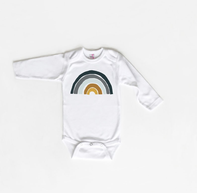 Trendy Kid Shirt Rainbow Baby Shirt New Baby Gift Hipster Rainbow Baby Shirt Rainbow Baby Bodysuit