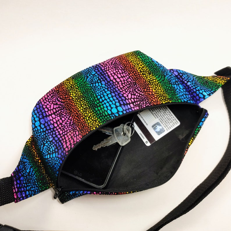 Pride Flag  Rainbow Fanny Pack  Bum Bag  Waist Bag  Pride  Gift  Birthday  Vacation  Kid  Vacation  Theme park  Travel  LGBT