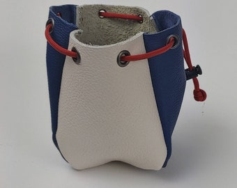 Custom leather dice bag - d&d gift - gamemaster gift - dice goblin - unique dice bag - money pouch