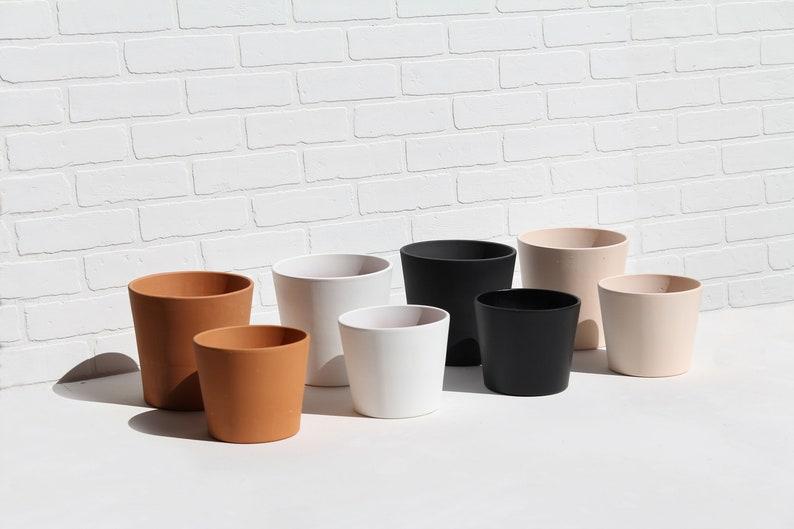 Mid Century Modern Metal Plant Stand Planter Pot Holder Scandinavian Bohemian Succulent Cactus Minimal Terracotta Ceramic