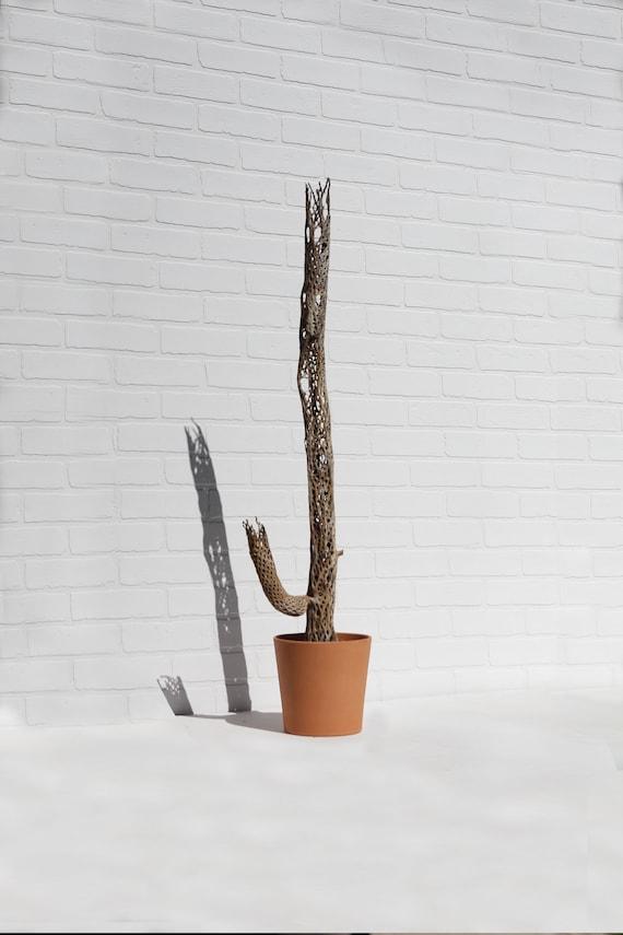 En Terre Cuite Pot Terre Cuite Jardinière En Céramique Mi Siècle Scandinave Mexicain Boho Argile Cactus Succulentes Décor Minimal