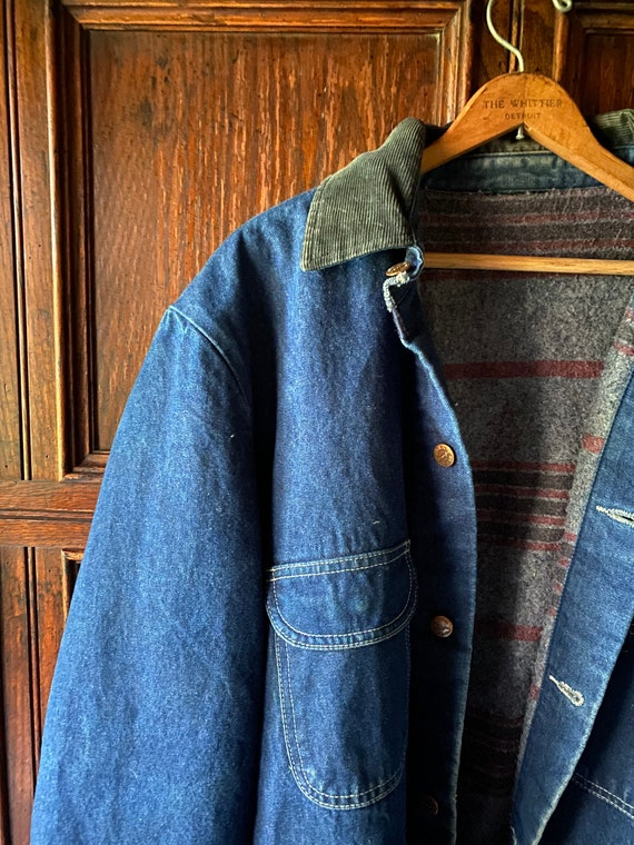 Vintage Wrangler Work Wear Denim Jacket