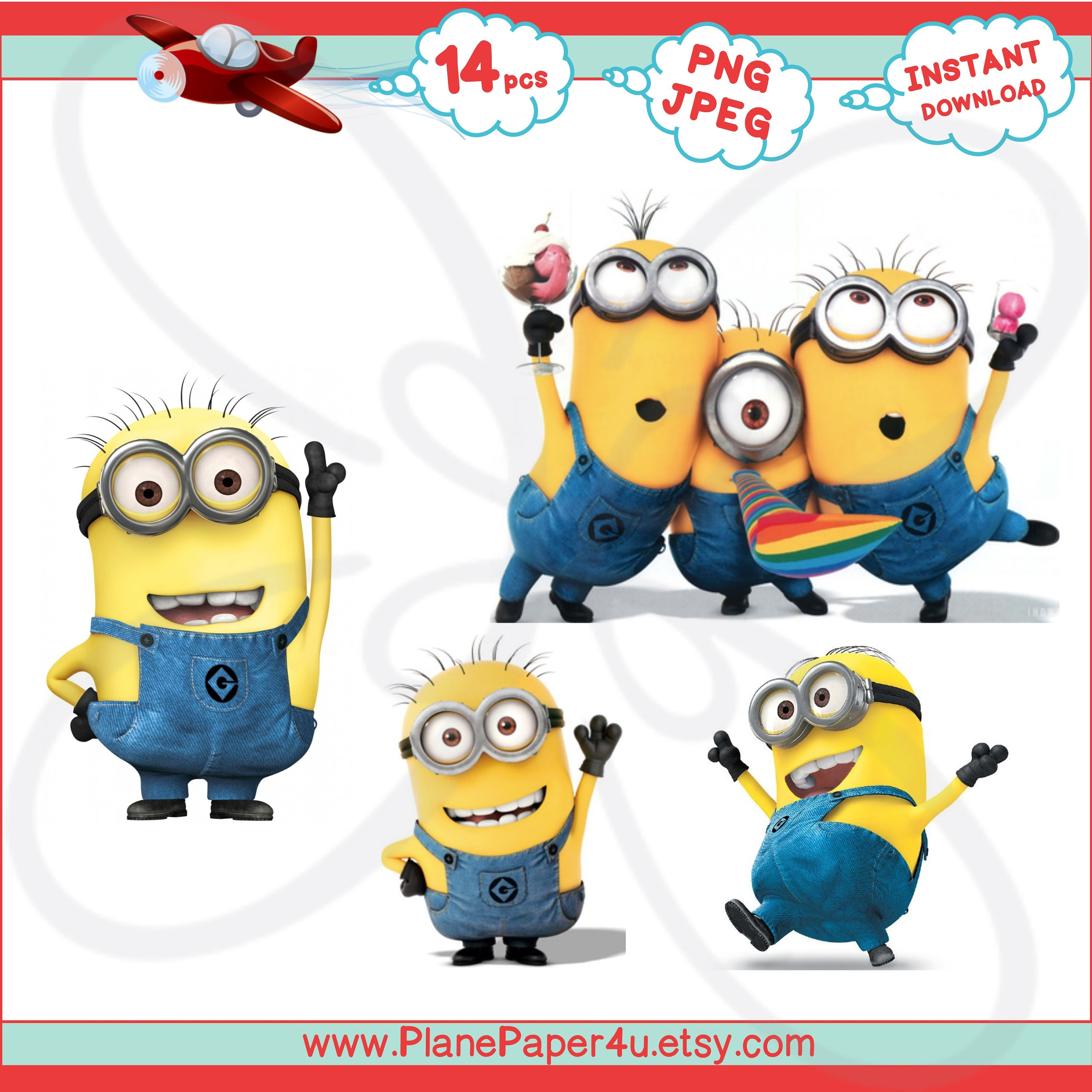 graphic about Minion Printable Cutouts identify MINIONS Immediate Electronic Down load- Heavy Cutouts, Birthday Social gathering Decorations, Printables, Card Generating, Sbooking, Despicable Me Clip artwork