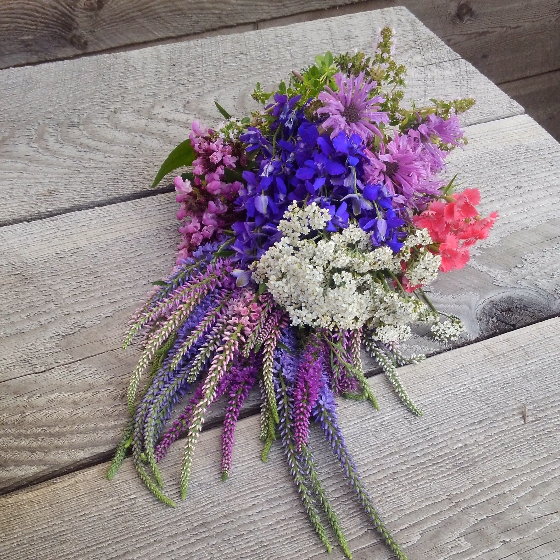 Dried Floral Bouquet Dried Fragrant Flowers Fragrant Flower Etsy