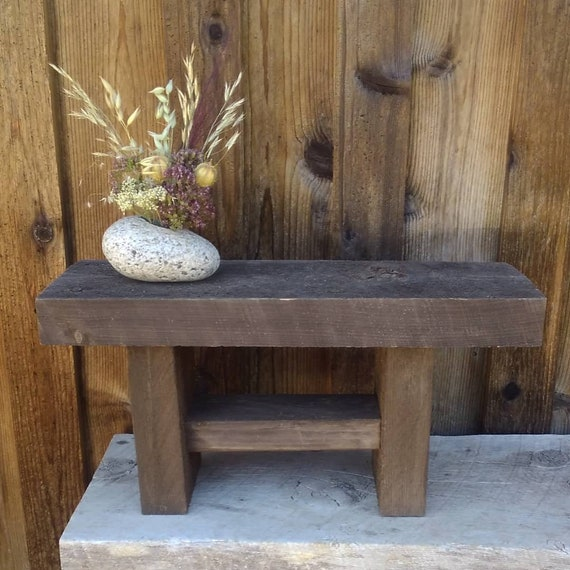 Phenomenal Small Barnwood Bench Wooden Plant Stand Rustic Plant Stand Primitive Wood Stand Rustic Wood Stool Miniature Entryway Bench Gmtry Best Dining Table And Chair Ideas Images Gmtryco