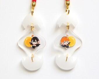 Kageyama & Hinata Egg Charm