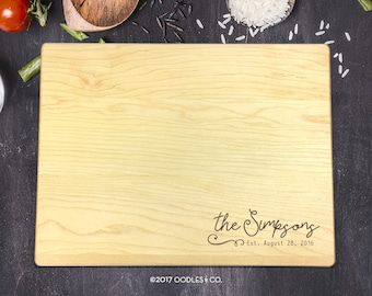 Mothers Day Gift, Cutting Board, Custom Cutting Board, Personalized Cutting Board, Personalized Mothers Day Gift, Gift for Her, B-0071