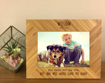 Pet Loss, Dog Remembrance, Dog Remembrance Gift, Dog Memorial, Pet Remembrance, Dog Loss, Pet Memorial Gift, Personalized Pet Frame, Frame
