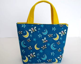 Little Girl Handbag Childs Tote Bag For Girls Moon Fabric Gift 4 Year Old Birthday Gifts Toy Carry