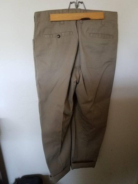 Tan Ben Davis pants size 33
