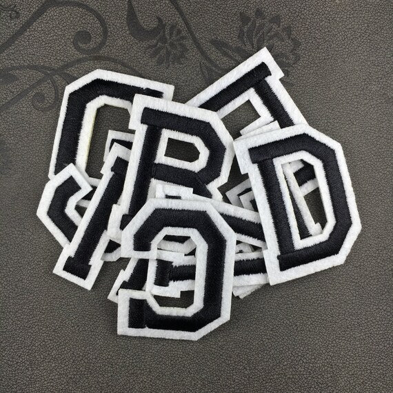 how to do iron on letters black letters patch iron on letters name letters patch 22276 | il 570xN.975352496 sor4