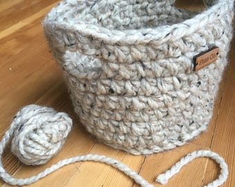 Crochet Basket (Small/Medium/Large)