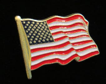 American Flag Tack Lapel or Hat Pin USA Independence Day US 4th of July Old  Glory Gift TG001 874d3bc183d5