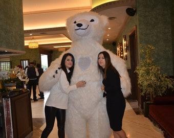 Polar bear costume | Etsy