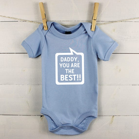 MY DADDY IS COOLER THAN YOURS PERSONALISED BABY GROW VEST CUSTOM FUNNY GIFT