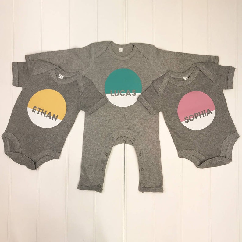 Personalised Baby Grow// Sleep Suit Gift Unisex