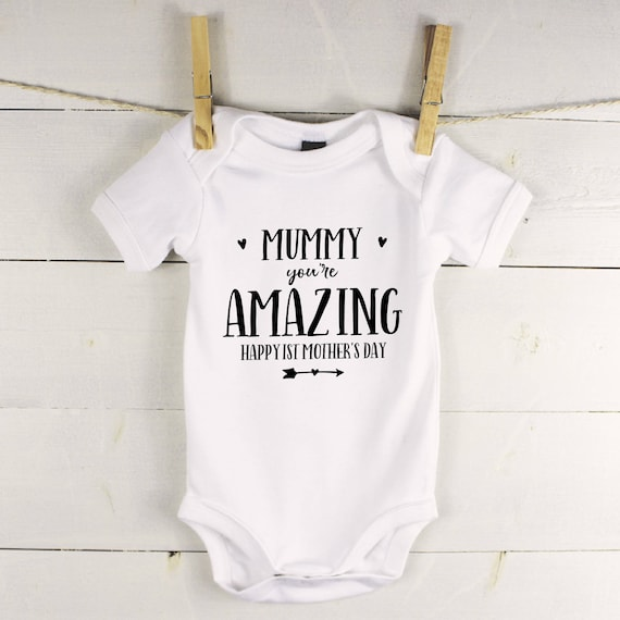 My 1st Mothers Day Baby Grow