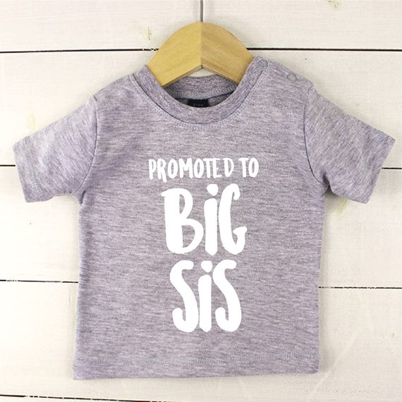 9313bd92be6 Sibling Clothes Baby vest or T-shirt sibling announcement