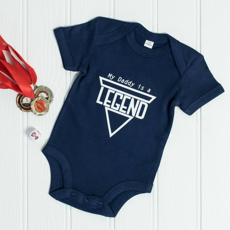 Legendary Dad Baby Grow Gift Idea For New 1st