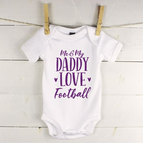 Fathers Day Dad Baby Boy Girl Baby Vest Grow Bodysuit Personalised Name Unisex