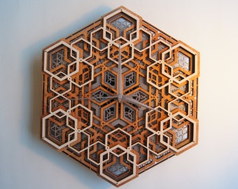 Time 02 /  Sacred Geometry Clock