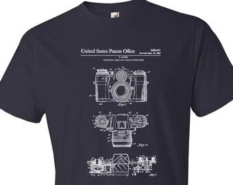 Zeiss Camera Patent T Shirt - Patent Shirt, Camera Patent, Photographer Gift, Photographer Shirt, Zeiss Shirt, Camera T Shirt