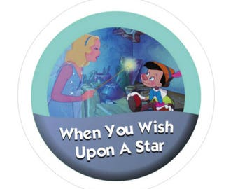 When You Wish Upon A Star 3' Button