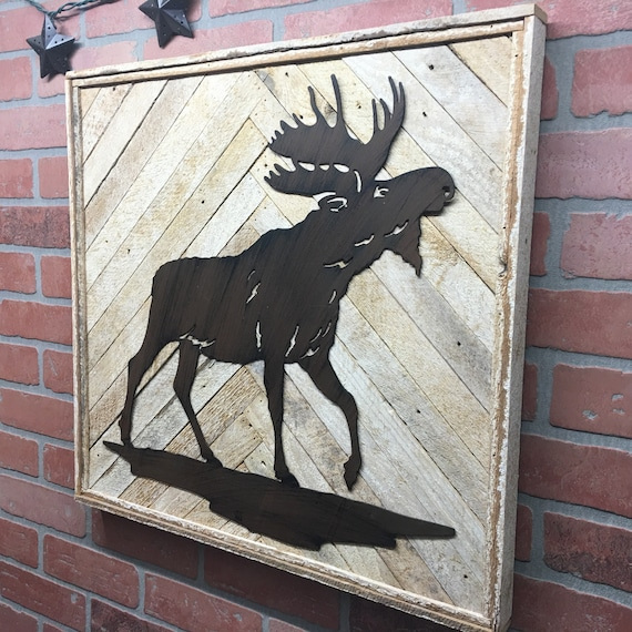 Moose Wall Decor
