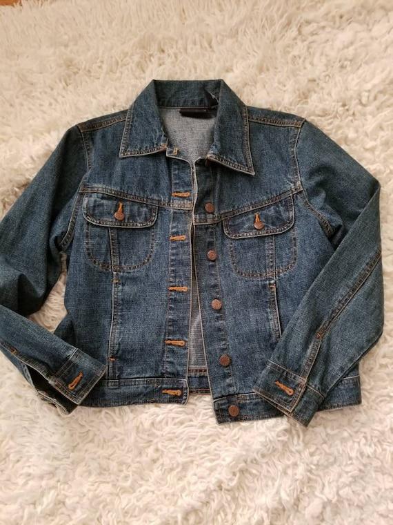 Vintage Bill Blass denim jacket