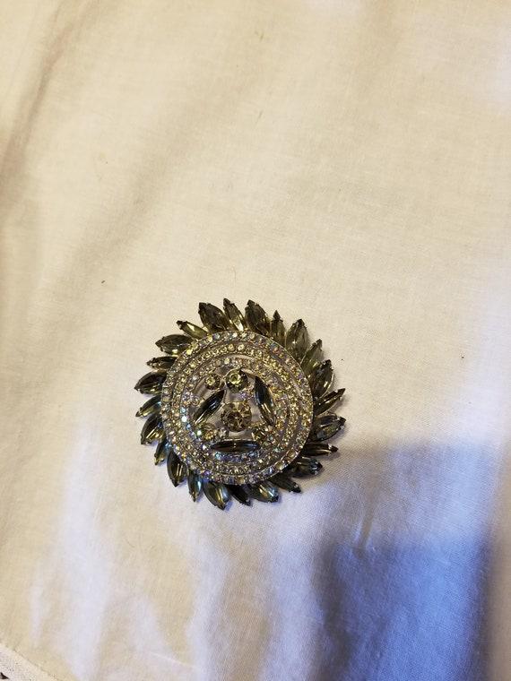 Vintage Art deco brooch, vintage brooch, vintage … - image 4