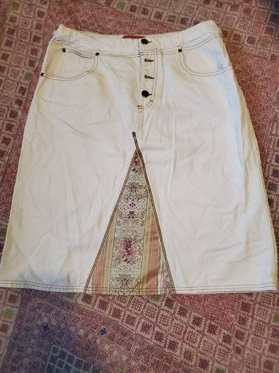 Vantage Gloria Vanderbilt skirt, vintage skirt, Gl