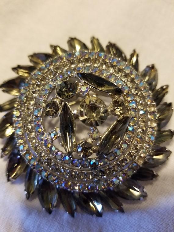 Vintage Art deco brooch, vintage brooch, vintage … - image 6