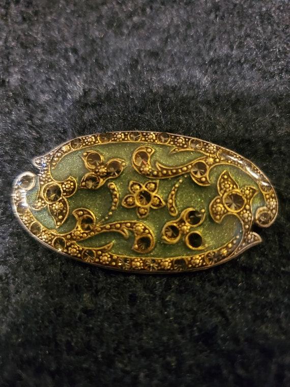Vintage brooch/ pin, made In France brooch, vinta… - image 1